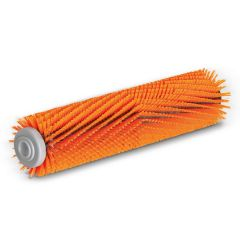 Roller brush, high / low, orange, 300 mm  for BR30/4, BR4.300