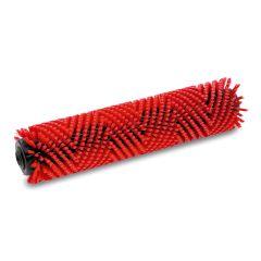 Roller brush, medium, red, 400 mm for BR40/10