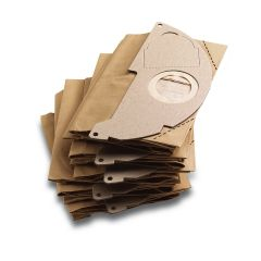 5x Paper filter bag for WD2