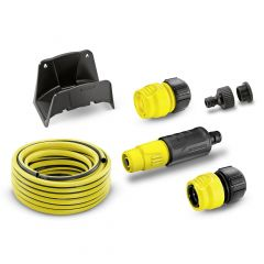 Hose set with hose hanger, 15 m