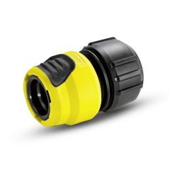 Universal hose coupling Plus with Aqua Stop