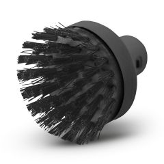 Big round brush for steam cleaners