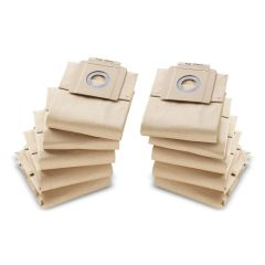 Paper filter bags, 10 x , T7/1, T9/1, T10/1